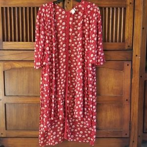 Sheer floral 👘 kimono